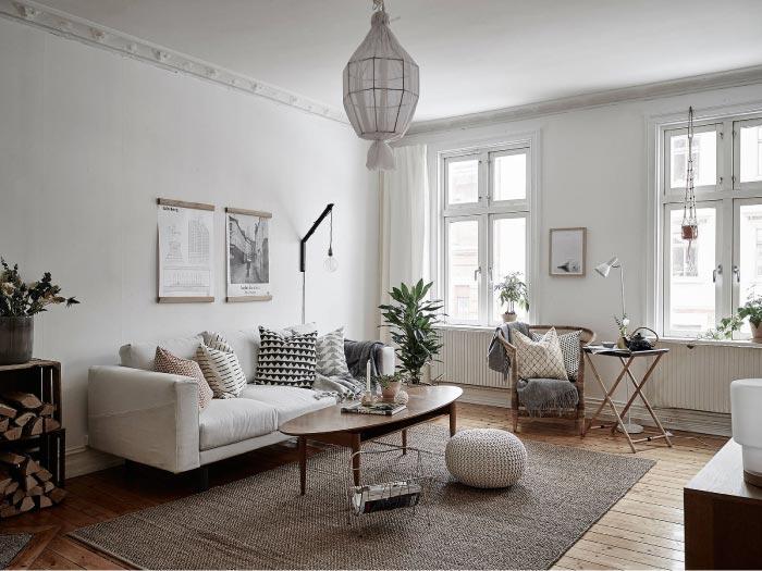 Ampio e luminoso appartamento ristrutturato con stile for Design interni appartamenti
