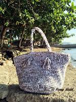 2 Strand Crochet Tote Bag