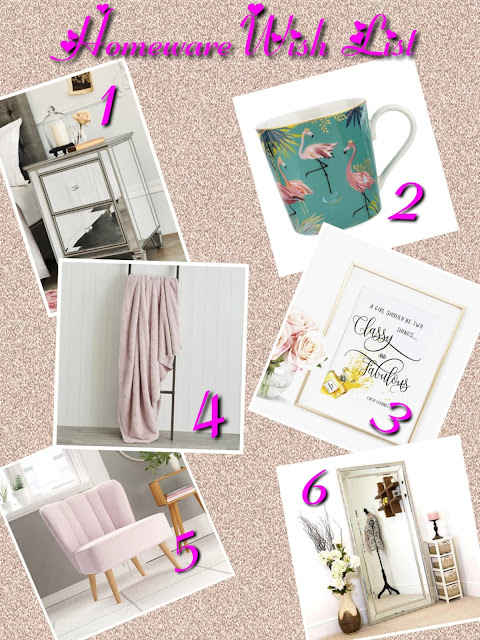 Homeware Wish List