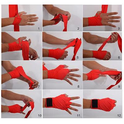 Hướng dẫn cách quấn tay với băng quấn tay boxing