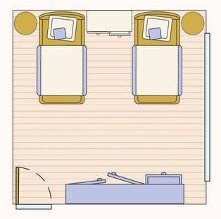 أفكار رائعة لتوزيع الديكور والاثاث داخل غرف النوم