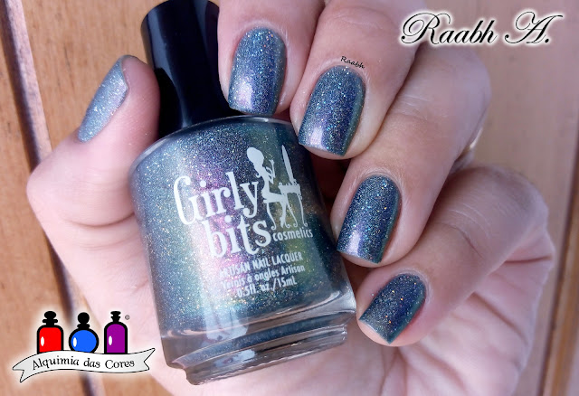 Raabh A. 2019, Girly Bits Cosmetics, Esmalte Multichrome, Esmalte Holográfico, Glitter, Shimmer, Girly Bits The Room Where It Happens