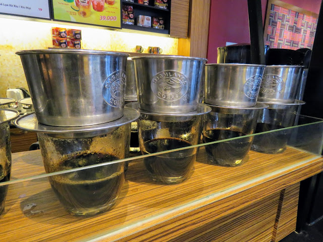 Non-Touristy Things to do: Highlands Coffee being prepared in Ho Chi Minh City Vietnam