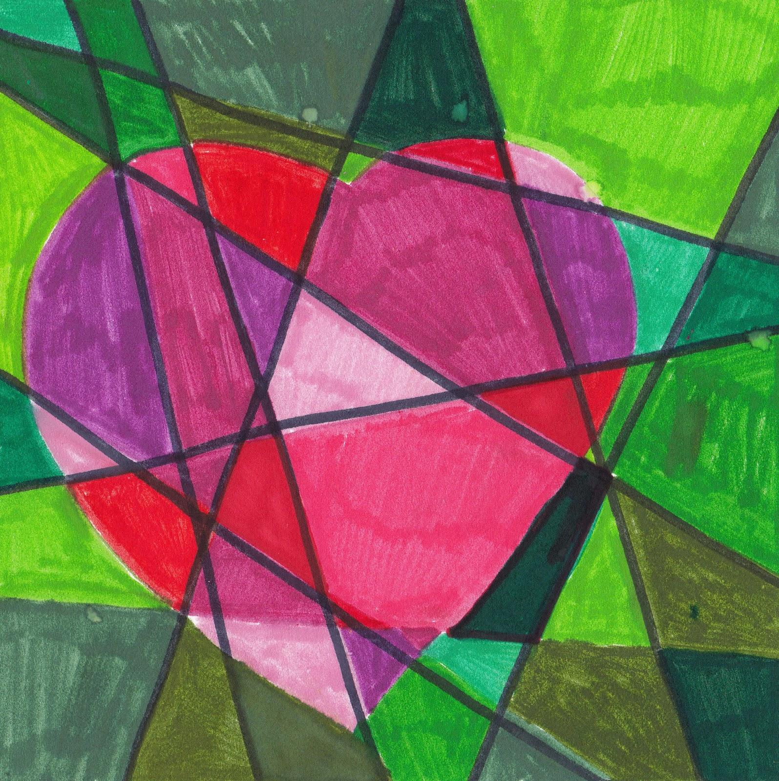 Cassie Stephens: heart mural |Heart Art Projects