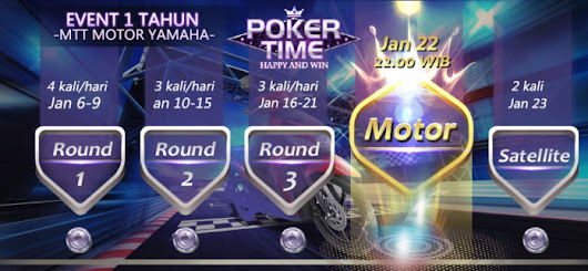 Poker Time Game Tournament 2017