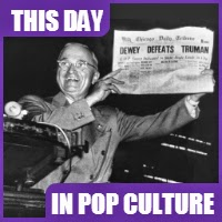 The Chicago Tribune announced wrongly that Governor Thomas Dewey won the presidential election against Harry S. Truman.