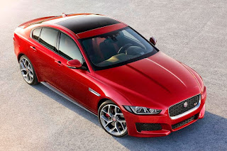 Jaguar XE (2015) Front Side 1