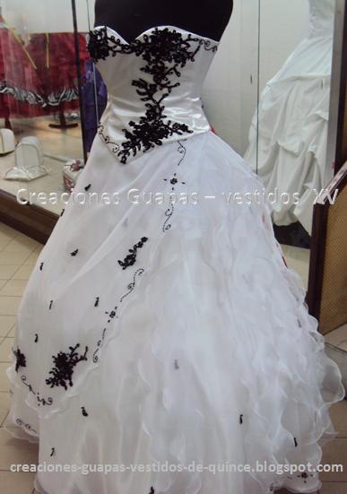 5f57f7e5d2 Vestido de 15 - modelo Coco Chanel ~ Creaciones Guapas - Vestidos de ...