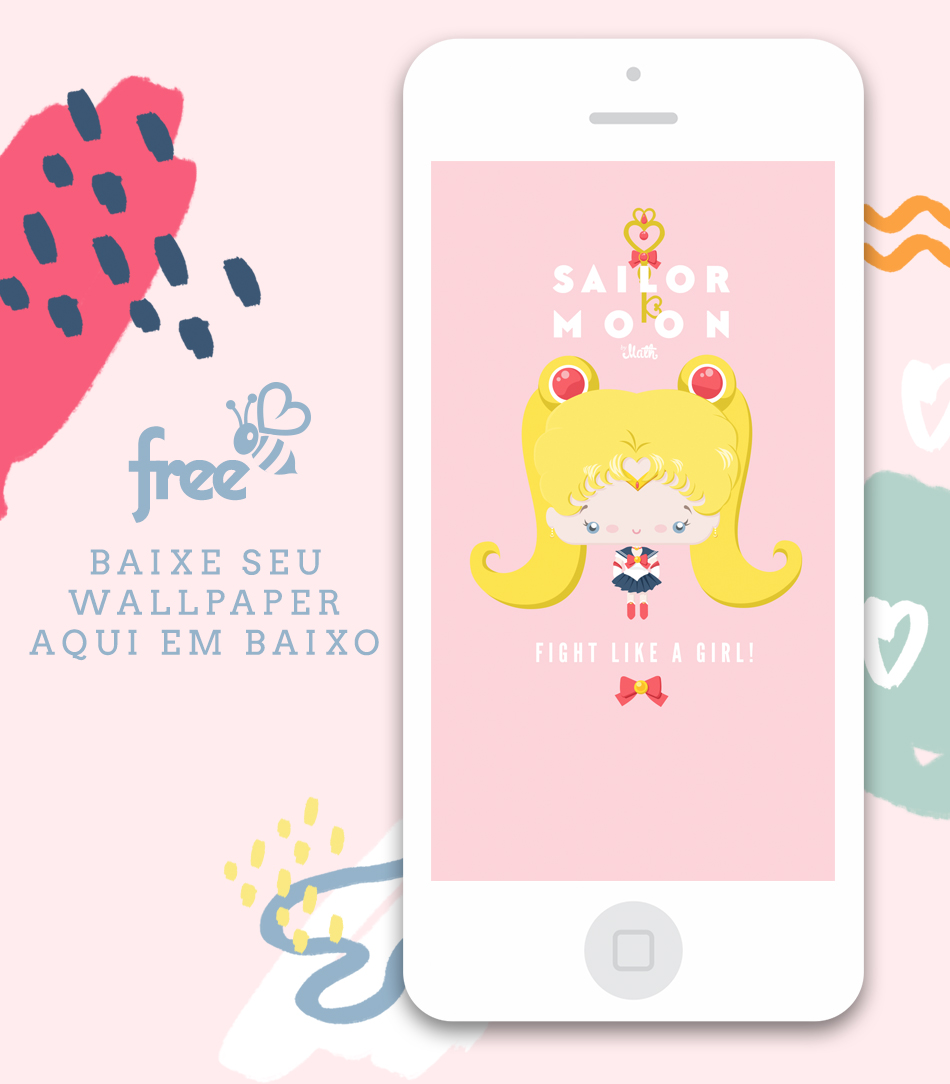 cute kawaii sailor moon freebie