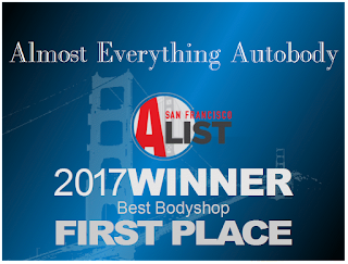 2017 San Francisco Bay Area A-List First Place Best Auto Body Shop