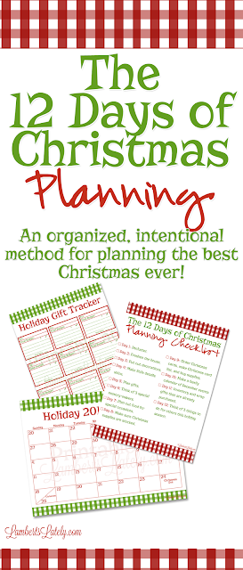 I love these ideas for planning an organized, intentional Christmas!  Includes holiday printables and a task planning checklist.  All for free!