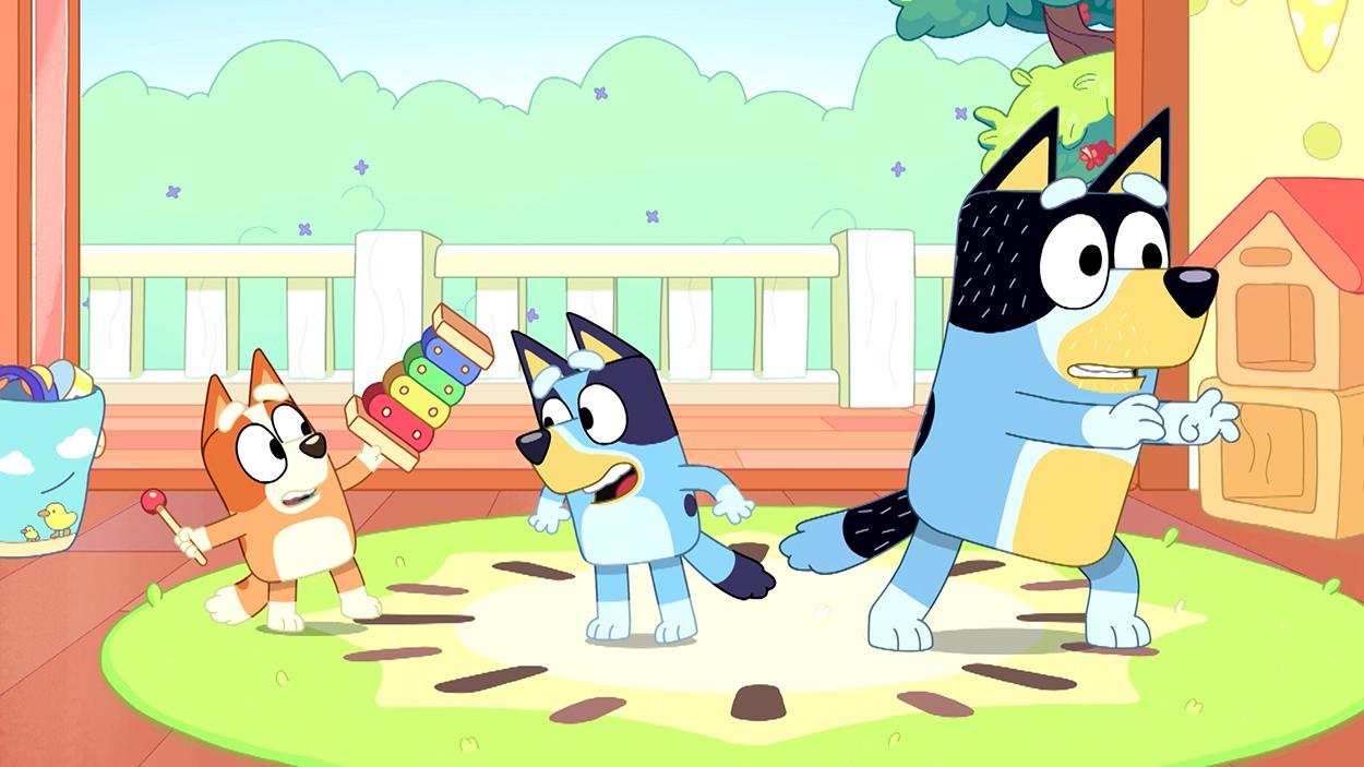 Bluey Series On ABC KIDS