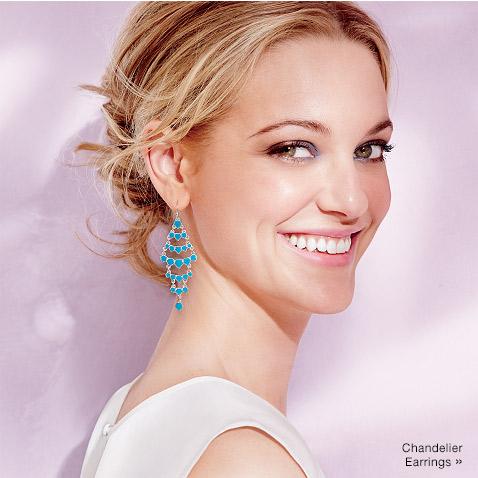Avon Summer Getaway Chandelier Earrings. #avonrep Shop: https://jenbertram.avonrepresentative.com/