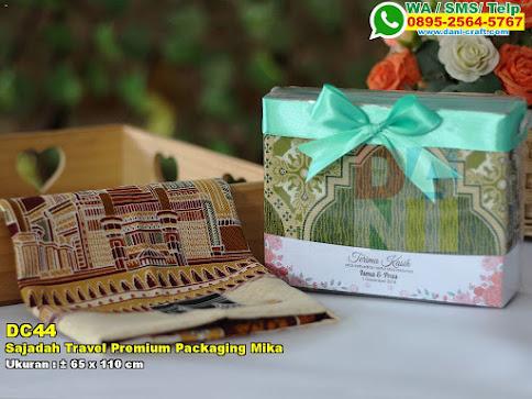 Sajadah Travel Premium Packaging Mika