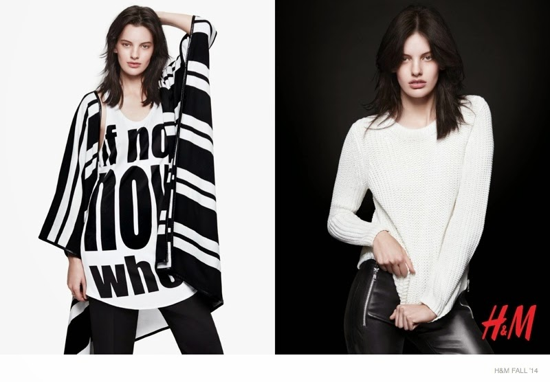 H&M Fashion Statement Campaign 2014 featuring Amanda Murphy