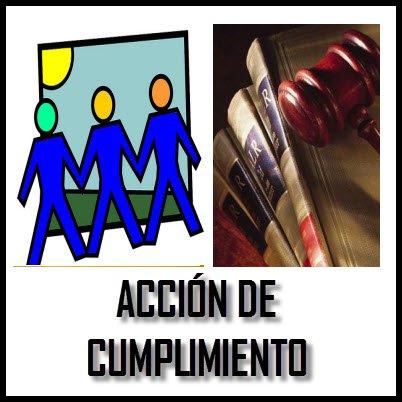 FORMATO MODELO ACCIÓN DE CUMPLIMIENTO EN COLOMBIA