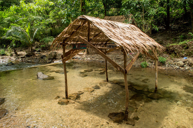 Nipa Hut Cabaruan Falls
