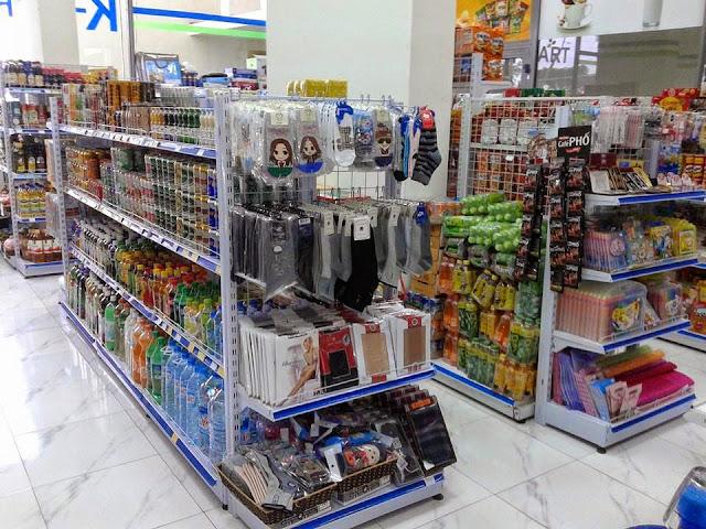 Cách lắp ráp kệ siêu thị