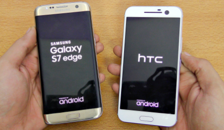 Samsung Galaxy S7 Edge vs HTC 10 Speed Test | Which phone Is Faster?