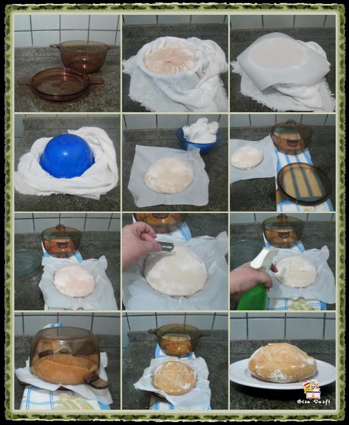 Pães de massa mole 6