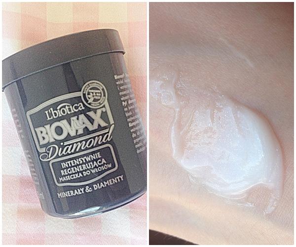 L'biotica Biovax Diamond intensywnie regenerujący szampon i maseczka do włosów Minerały & Diamenty