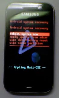 Menu oculto no Android 2.3 - Galaxy Y