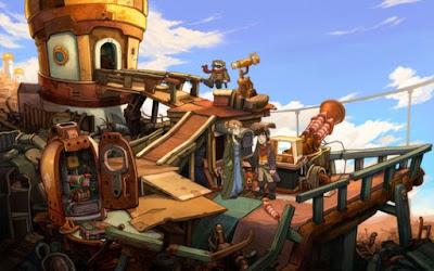 تحميل لعبة المغامرات Deponia The Complete Journey