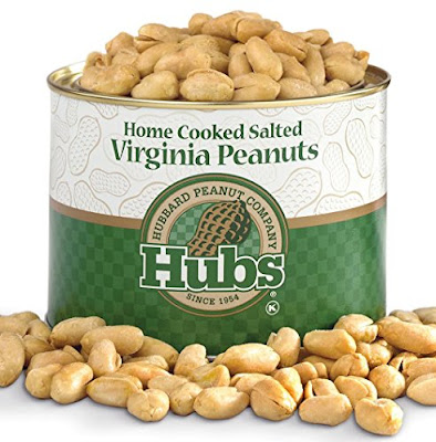 Hubbard Peanuts - Home Cooked Salted Virginia Peanuts - Grocery Snacks