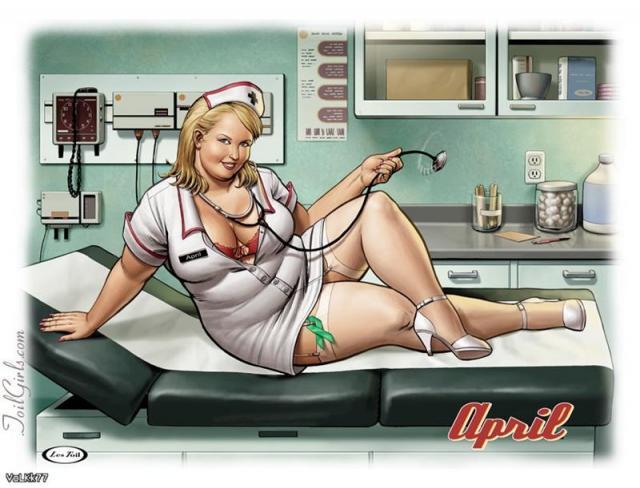 Enfermeras gordas