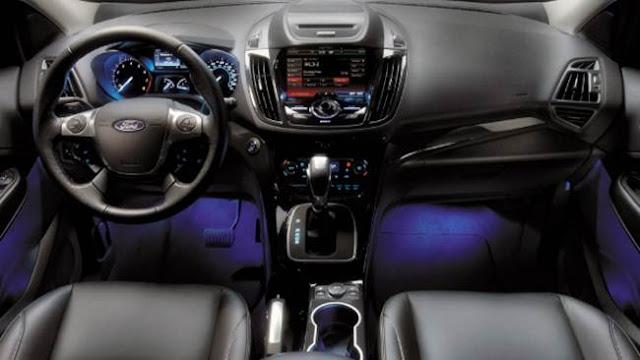 2018 Ford Escape Titanium Specs