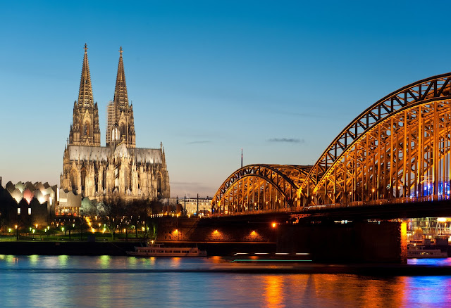 The magnificent Dom in Cologne, Germany.