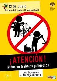 Imagen por el Día Mundial contra el Trabajo Infantil