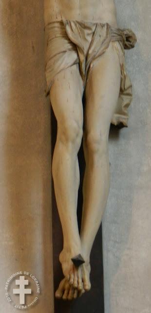 NANCY (54) - Christ en croix (XVIe siècle)