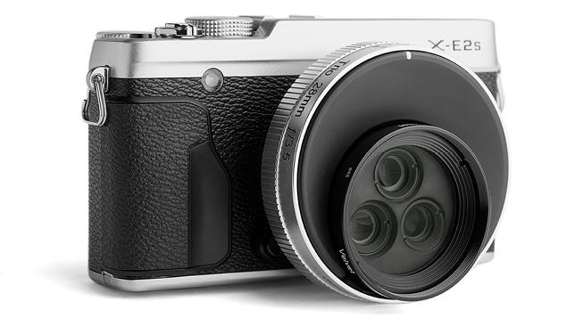 Объектив Lensbaby Trio 28mm f/3.5 и Fujifilm X-E2s