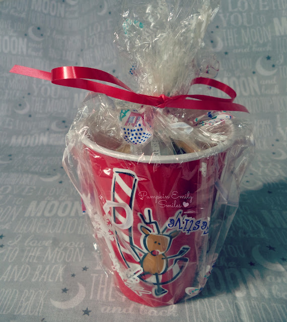 Reindeer Cup Treat Bag