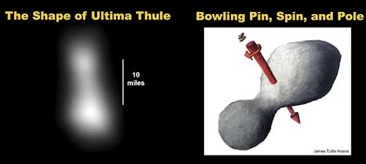 ultima thule - primeiras imagens