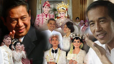 Pernikahan Anak Jokowi, Anak Presiden Indonesia