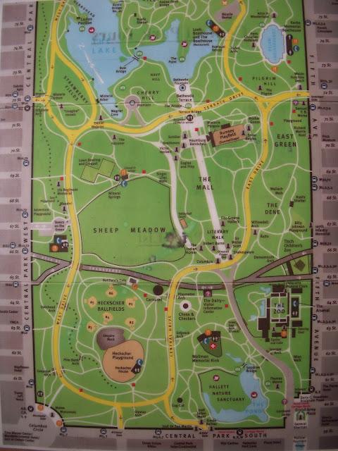 central park map