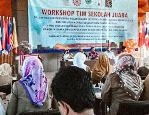 Workshop Tim Sekolah Juara Bandung