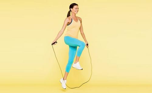 Teknik Skipping Rope yang pertama