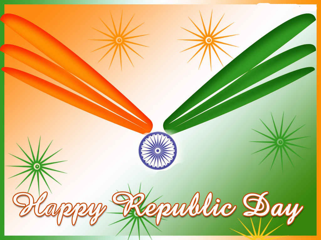 Gandhi Ji With Indian Flag Hd: Hd Wallpaper Graphic: Greeting Republic Day,wishes