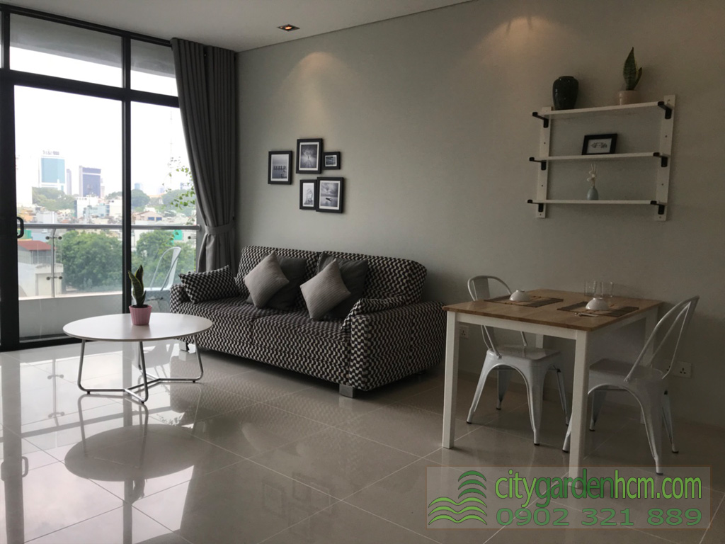 Cho thuê 1 phòng ngủ căn hộ City Gardenr Bình Thạnh - hình 4