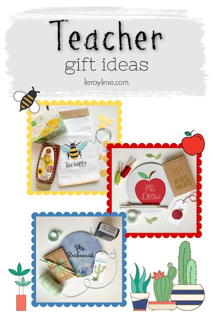 Teacher Gift Ideas - Teacher Appreciation - leroylime.com