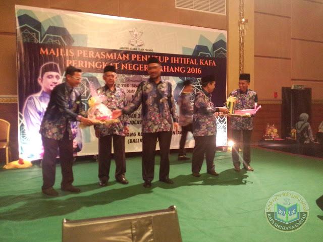 Keputusan Penuh Ihtifal KAFA Peringkat Negeri Pahang 2016
