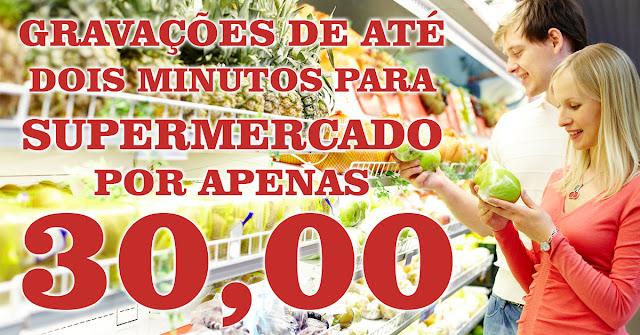 A gravação de propaganda para mercados que mais vende no Brasil