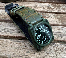 Ged's BR03 Military on Barbados Bleu Alligator