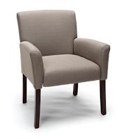 informal guest reception chair