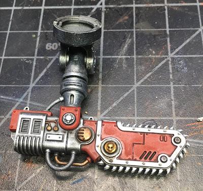WIP House Taranis Armiger Warglaive Sword Arm