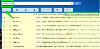 Begini Cara Menghapus Email Gmail Secara Massal