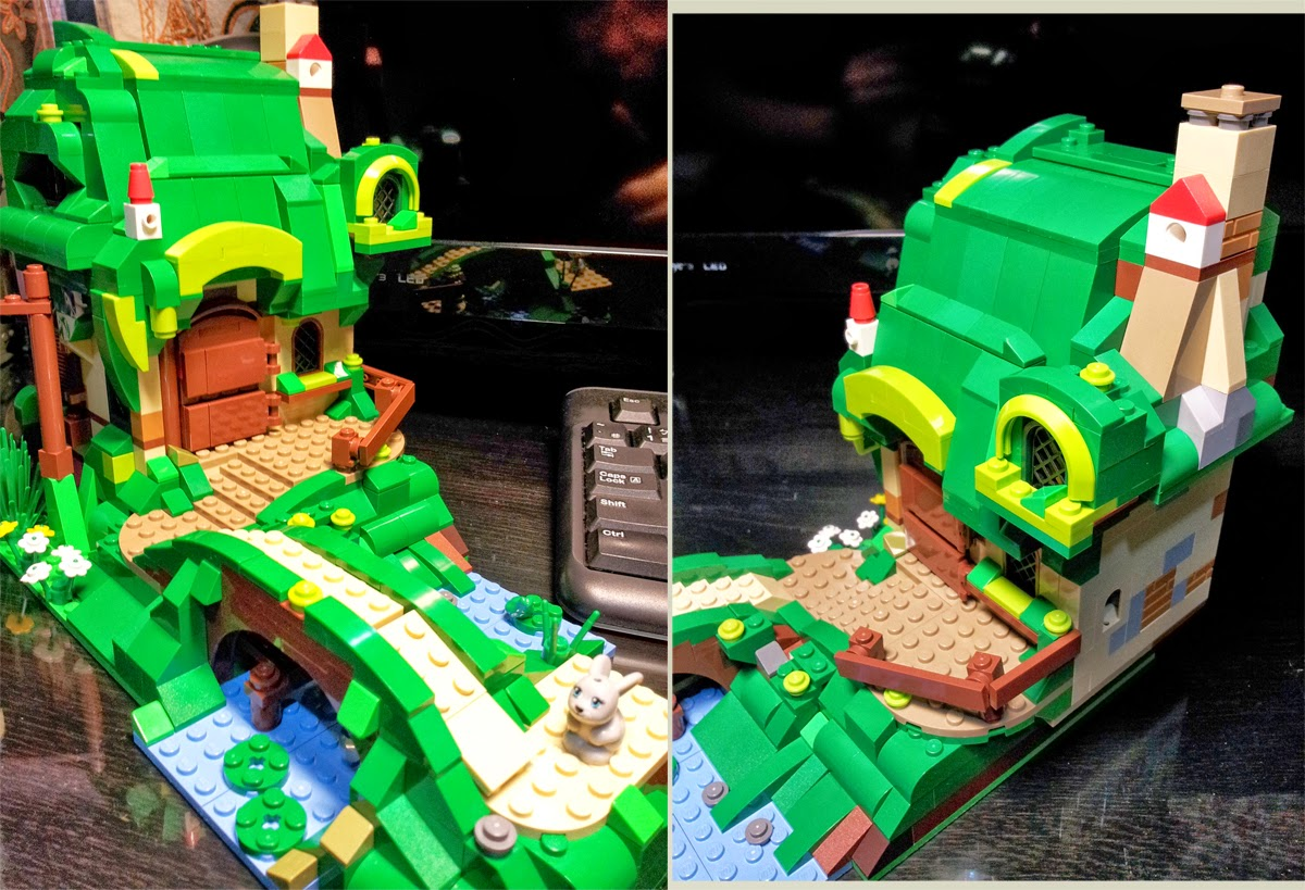 Equestria Daily   MLP Stuff   Lego Fluttershy House